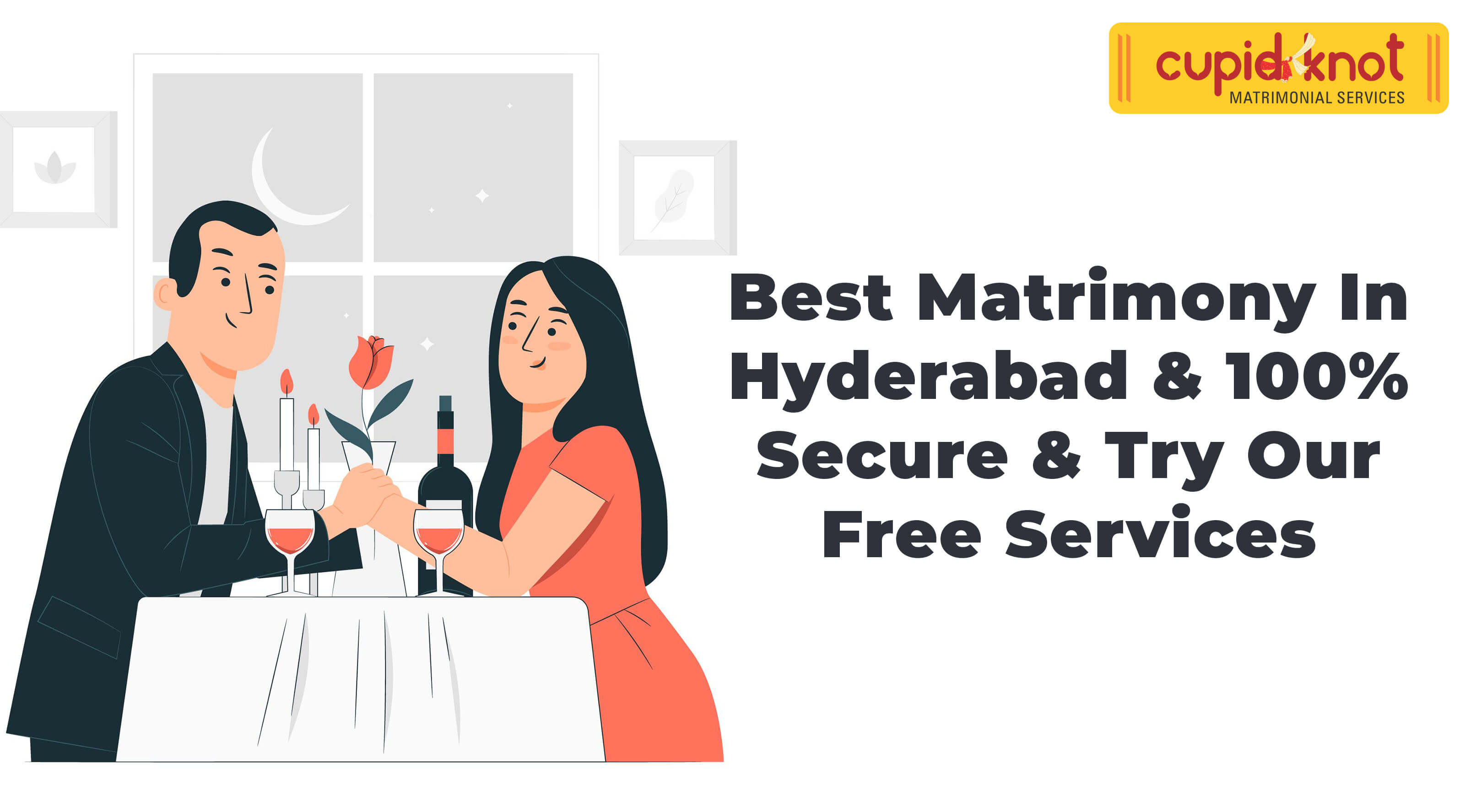 Best Matrimony in Hyderabad & 100% Secure & Try Our Free Services