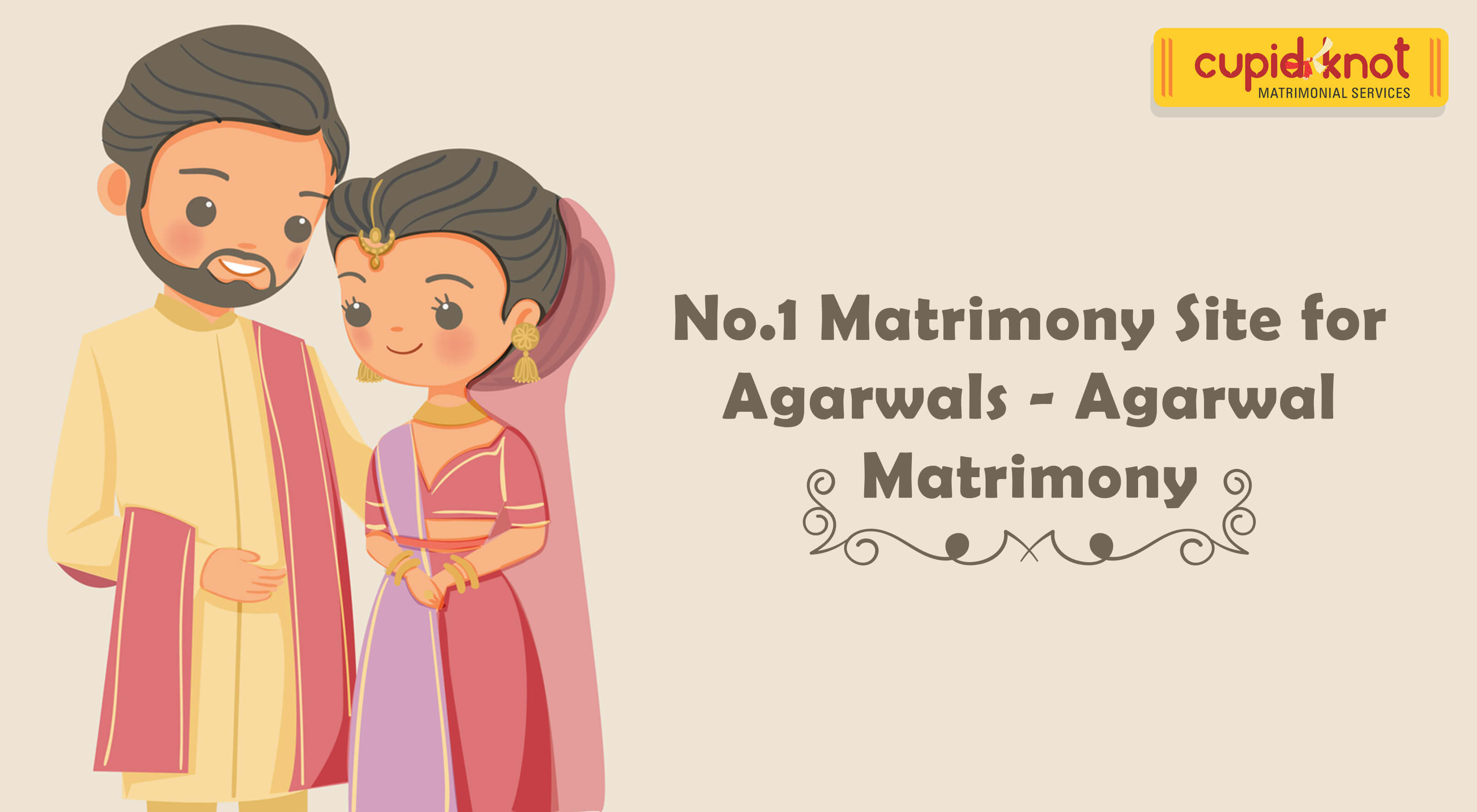 No.1 Matrimony Site for Agarwals - Agarwal Matrimony