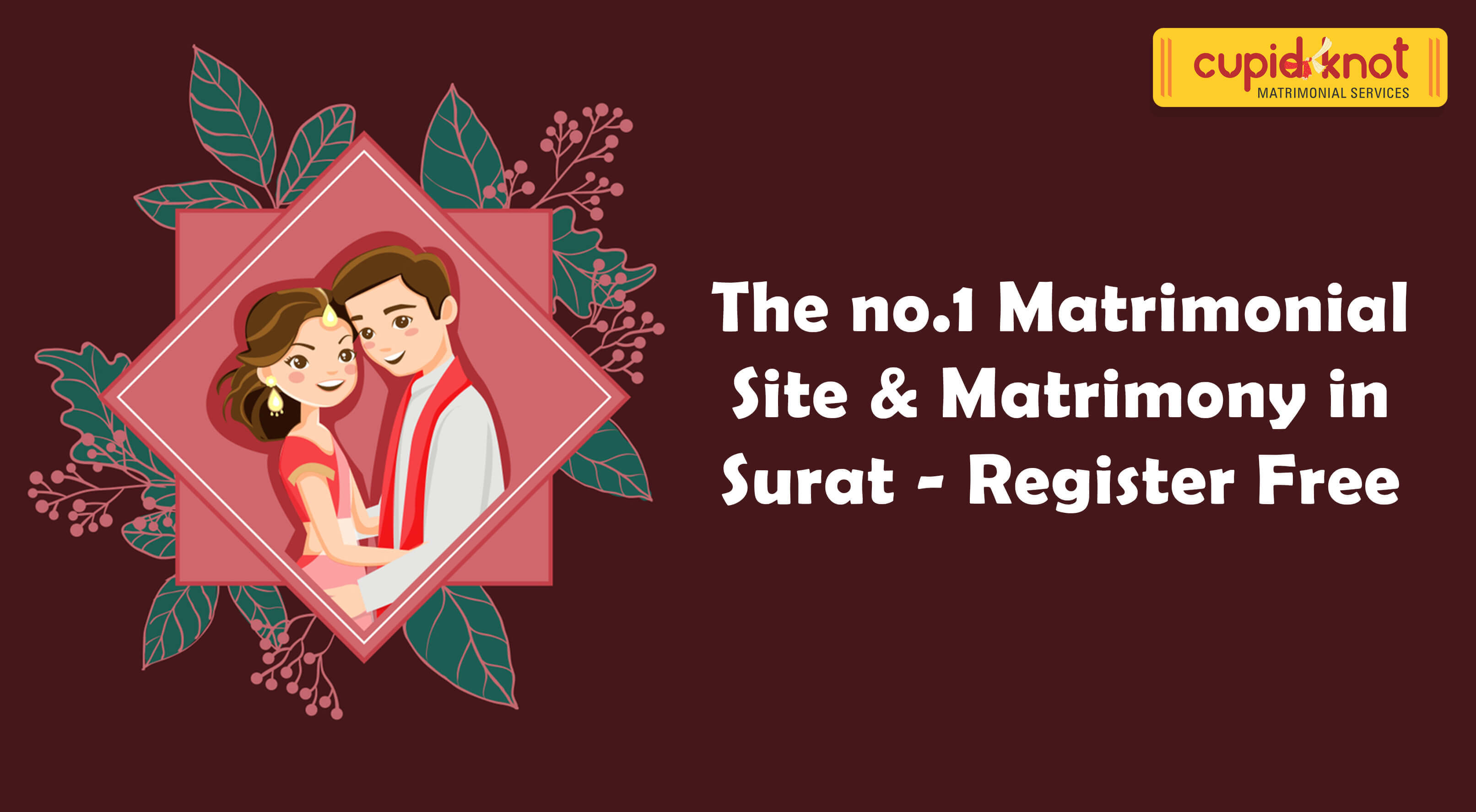 The no.1 Matrimonial Site & Matrimony in Surat - Register Free